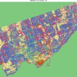 Categorized area of Toronto