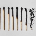 Burned out matches